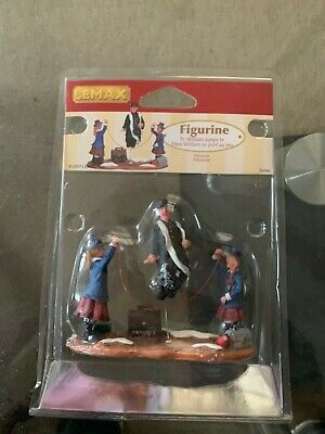 """Lemax Christmas Village """"Fr. William Jumps In"""" 72394 Retired Jumping Rope NEW!"""
