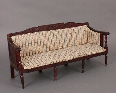 Antique Doll-Size Replica of Sofa Made by Samuel McIntire, in 1800, Mass., USA