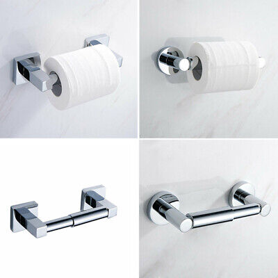 Stainless Steel Toilet Roll Paper Wall Mounted Hanger Roll Bathroom Accessories