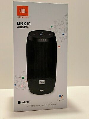 BRAND NEW JBL Link 10 Smart Bluetooth Voice Activated Portable Wireless Spkr NEW