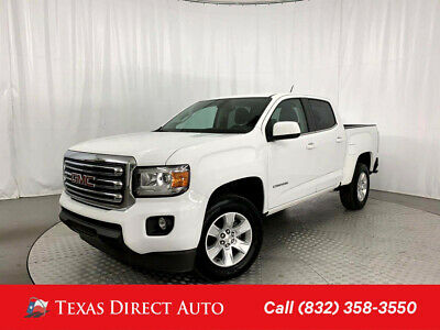 2018 GMC Canyon 2WD SLE Texas Direct Auto 2018 2WD SLE Used 3.6L V6 24V Automatic RWD Pickup Truck