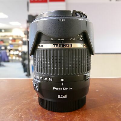 Used Tamron 18-270mm f3.5-6.3 Di II VC PZD lens in Canon fit - 1 YEAR GTEE