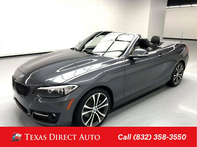 2016 BMW 2-Series 228i Texas Direct Auto 2016 228i Used Turbo 2L I4 16V Automatic RWD Convertible