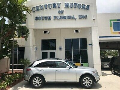 2006 INFINITI FX  Heated Leather Seats Power Sunroof Cruise Dual A/C Homelink Fog