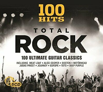 Various Artists - 100 Hits - Total Rock - Various Artists CD A6VG FREE Shipping