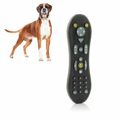 Sharper Image Dog Chew Toy TV Remote Control Durable Silicone Rubber Pet Chewing