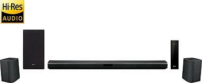 LG - 4.1-Channel Hi-Res Soundbar System with Wireless Subwoofer and Digital A...