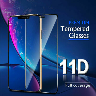 Samsung Galaxy A10/A20/A30/A40/A50/A60/A70/A80/A90-11D Full Cover Tempered Glass