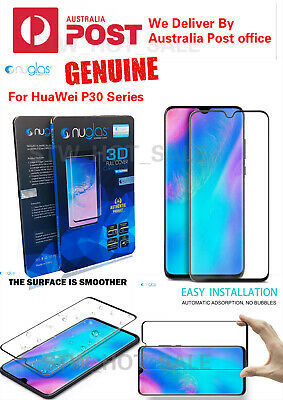 NUGLAS 3D Tempered Glass Screen Protector For Huawei P30/P30 PRO/P30 Lite