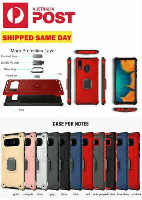 Samsung Galaxy S9/S10e/S10/S8 Plus Note8/9/N10 Magnetic Ring Holder Case Rugged