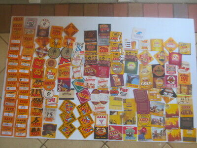 132 different CASTLEMAINE XXXX  Issue,collectable, BEER  COASTERS