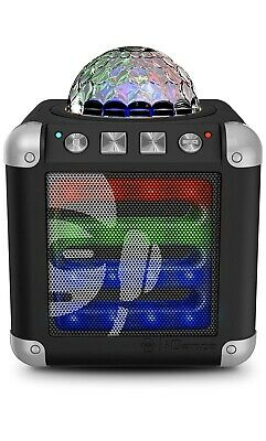 New iDance Portable Speaker System With Party Lights And 20 Light Show Program