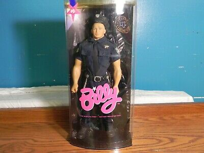 Tyson Gay Police Officer - Billy Doll by Totem with Hat and Baton
