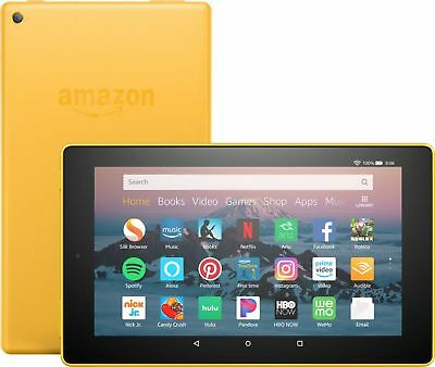 "Amazon - Fire HD 8 - 8"" - Tablet - 16GB 8th Generation, 2018 Release - Canary..."