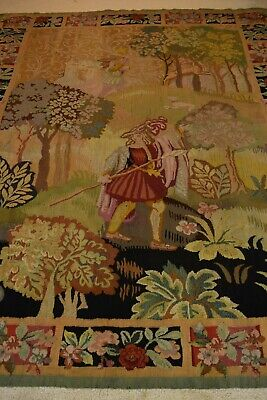 Antique Large Gorgeous Tapestry