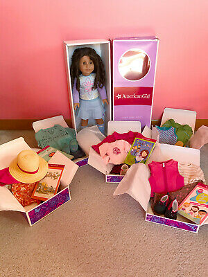 American Girl Doll with 6 Outfits GOOD Condition