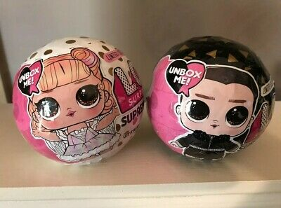 LOL Surprise SUPREME BFF BFFs 2 Pack Boy & Girl Toy Black White Sold OUT!
