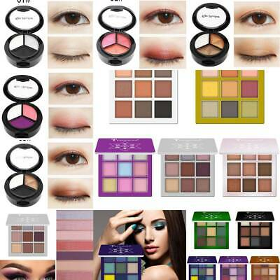 9 Colors Pro Shimmer Matte Eyeshadow Palette Powder Eye Shadow Makeup Kit Set