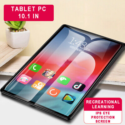 """10.1"""" Tablet PC 8 Core 2 SIM Camera WIFI Bluetooth HD GPS 6G+128GB Android 8.1"""