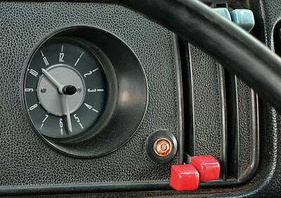 Smiths Deluxe Dash Clock Built-In Analogue For VW T2 Bay Window 1967-1979
