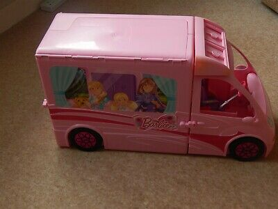 Barbie Glam Sisters Getaway Campervan light pink - Mattel 2012