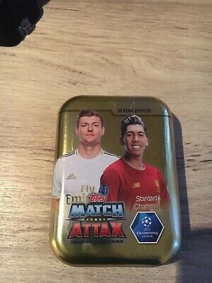 match attax 19/20 Champions League tin