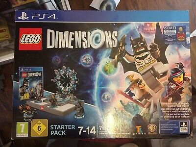 LEGO Dimensions Starter Pack with Supergirl Figure (PS4) Rare New Sealed