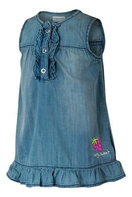 JOB LOT - 10 X Baby Girls Chambray Summer Cotton Dress - Ages N/B - 6 Months