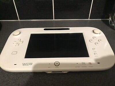 Genuine Official White Nintendo Wii U Gamepad ONLY  - Replacement