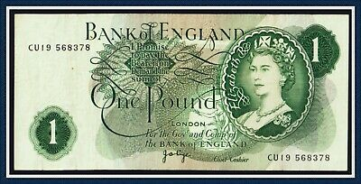 Bank of England one Pound note Page