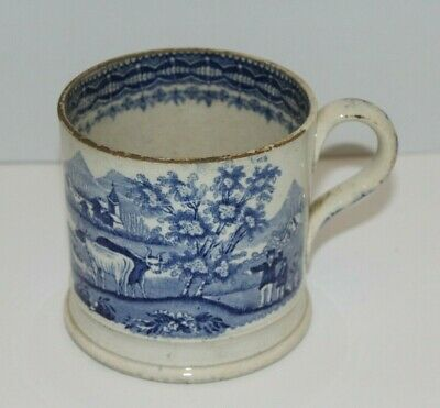 Antique Earthenware Mug - Late 18th Century/Early 19th Century