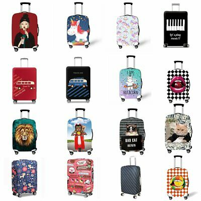 18-32Inch Travel Elastic Luggage Suitcase Cover Trolley Dustproof Case Protector