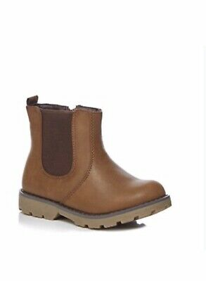 Debenhams Bluezoo Brown Chelsea Boots Size 9 New With Tags