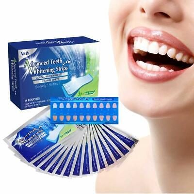 Advanced 3D Teeth Whitening Strips, See Professional White Effects - 28 Strips