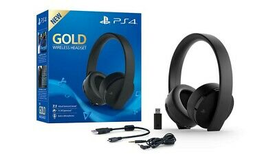 Sony Wireless Gold Edition 7.1 Surround Headset  PS4