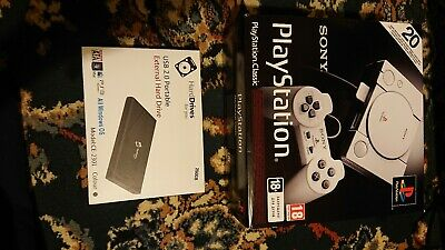 Sony PlayStation Classic Retro Enabled with a 250GB Hard Drive