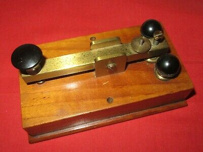 Vintage LMS Railway London And Midland Telegraph Morse Code Key Dated 1939