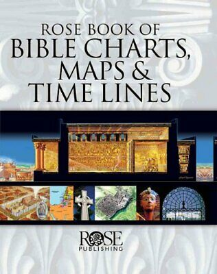Rose Book of Bible Charts, Maps and Time Lines, Hardcover by Rose Publishing ...