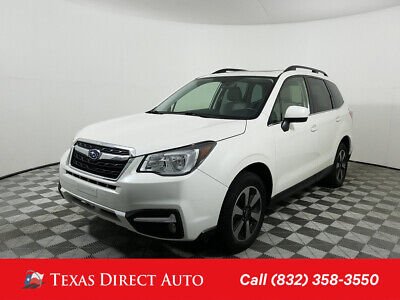 2017 Subaru Forester Limited Texas Direct Auto 2017 Limited Used 2.5L H4 16V Automatic AWD SUV