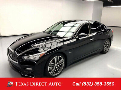 2016 Infiniti Q50 3.0t Sport Texas Direct Auto 2016 3.0t Sport Used Turbo 3L V6 24V Automatic RWD Sedan