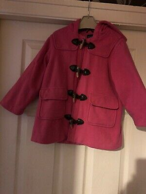 Girls Pink Duffle Coat Age 5 Years From Gap
