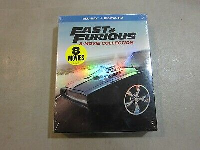Fast and Furious: 8-Movie Collection (Blu-ray) BRAND NEW SEALED - FREE SHIPPING