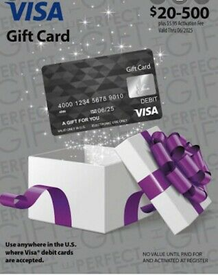 $400 Gift Card. No Additional Fees, Activated and ready to use!! Free Shipping!!
