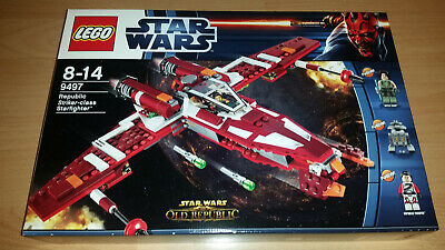 Lego Star Wars Republic Striker-class Starfighter 9497 NEU & OVP