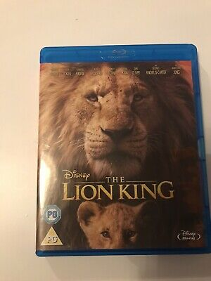 The Lion King Dvd Blu Ray - Watched Twice