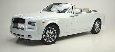 2016 Rolls-Royce Drophead Coupé Drophead 2016 Phantom Drophead Coupé finished in Arctic White over Seashell and Black