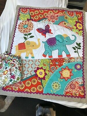 Levtex Baby Crib Sheet And Quilt