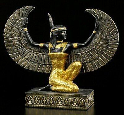 Egyptian Maat With Open Wings Goddess, personification of truth, justice & order