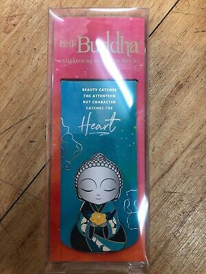Magnetic bookmark book mark Little Buddha Inspirations Inspirational