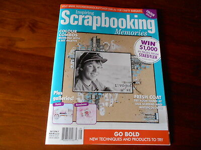 Inspiring Scrapbooking Magazine Vol 19 No 2  - Good Condition -